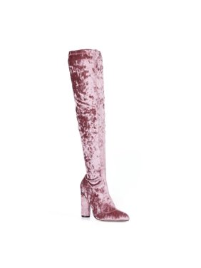 af5fb9dcb1e Product Image Fahrenheit Over knee Women s High Heel Boots in Mauve