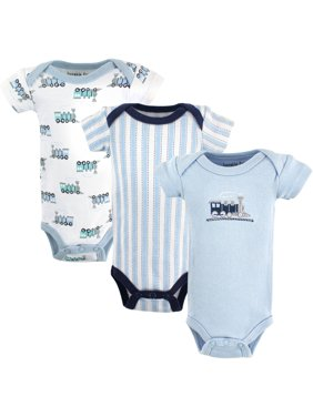 Baby Boy Bodysuits, 3-Pack