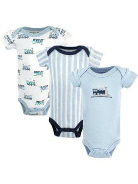 Luvable Friends Newborn Baby Preemie Bodysuits 3 Pack