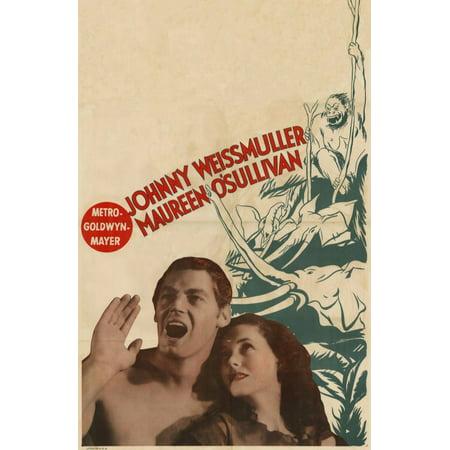 Tarzan The Ape Man Poster Movie B Mini Promo