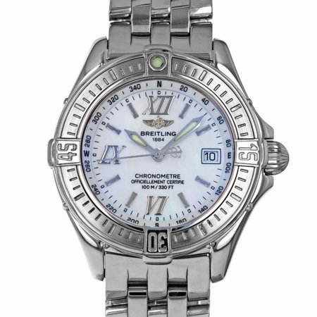 Pre-Owned Breitling B Class A67365 Steel Women Watch (Certified Authentic & Warranty)