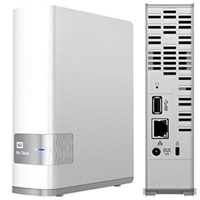 Western Digital - WDBCTL0040HWT-NESN - WD My Cloud Personal Cloud Storage - Dual-core (2 Core) - 1 x Total Bays - 4 TB
