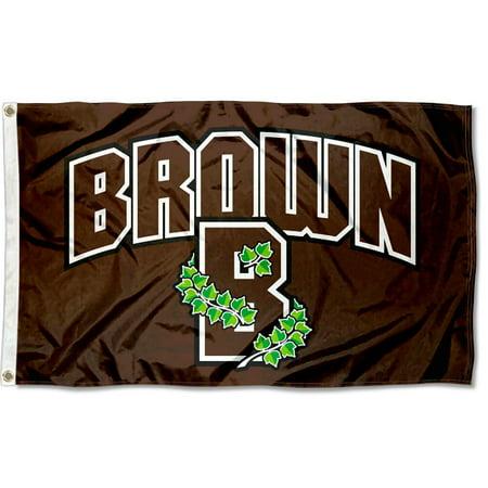 Brown University Bears Athletic Logo Flag