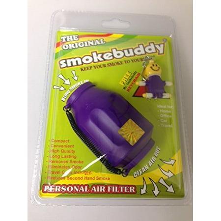 - Smoke Buddy - Personal Air Filter/ Purifier - Purple..., By smokebuddy Ship from US