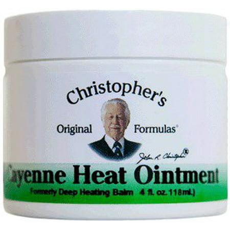Cayenne Heat Dr. Christopher 4 oz - Cayenne Heat
