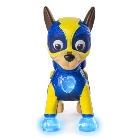 PAW Patrol - Mighty Pups Chase Figure with Light-up Badge and Paws, for Ages 3 and Up, Wal-Mart Exclusive - Pup Patrol Halloween