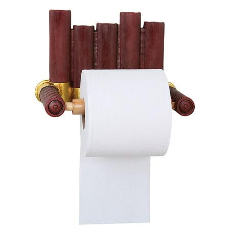 Shotgun Shell Toilet Paper Or Paper Towel Holder - Exclusive