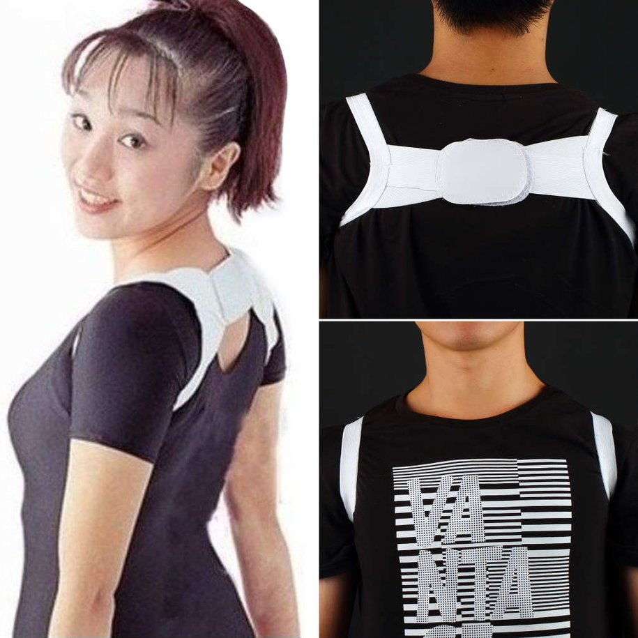 Posture Corrector Beauty Body Back Support Shoulder Brace Band Belt Correctio