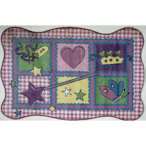 Fun Rugs Supreme Fairy Quilt Area Rug by Fun Rugs