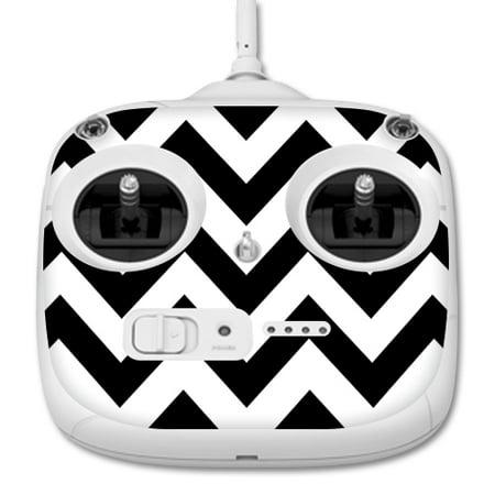 MightySkins Protective Vinyl Skin Decal for DJI Phantom 3 Standard Quadcopter Drone Controller wrap cover sticker skins Black