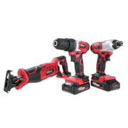 Hyper Tough 20-Volt Max Lithium-ion Cordless 3-Tool Combo Kit, AQ90154G