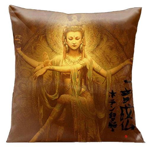 Lama Kasso Zen Indian Buddha Throw Pillow