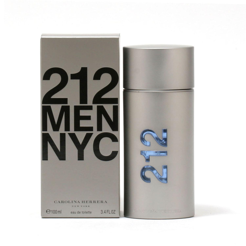 212 MEN by CAROLINA HERRERA- EDT SPRAY 3.4 OZ
