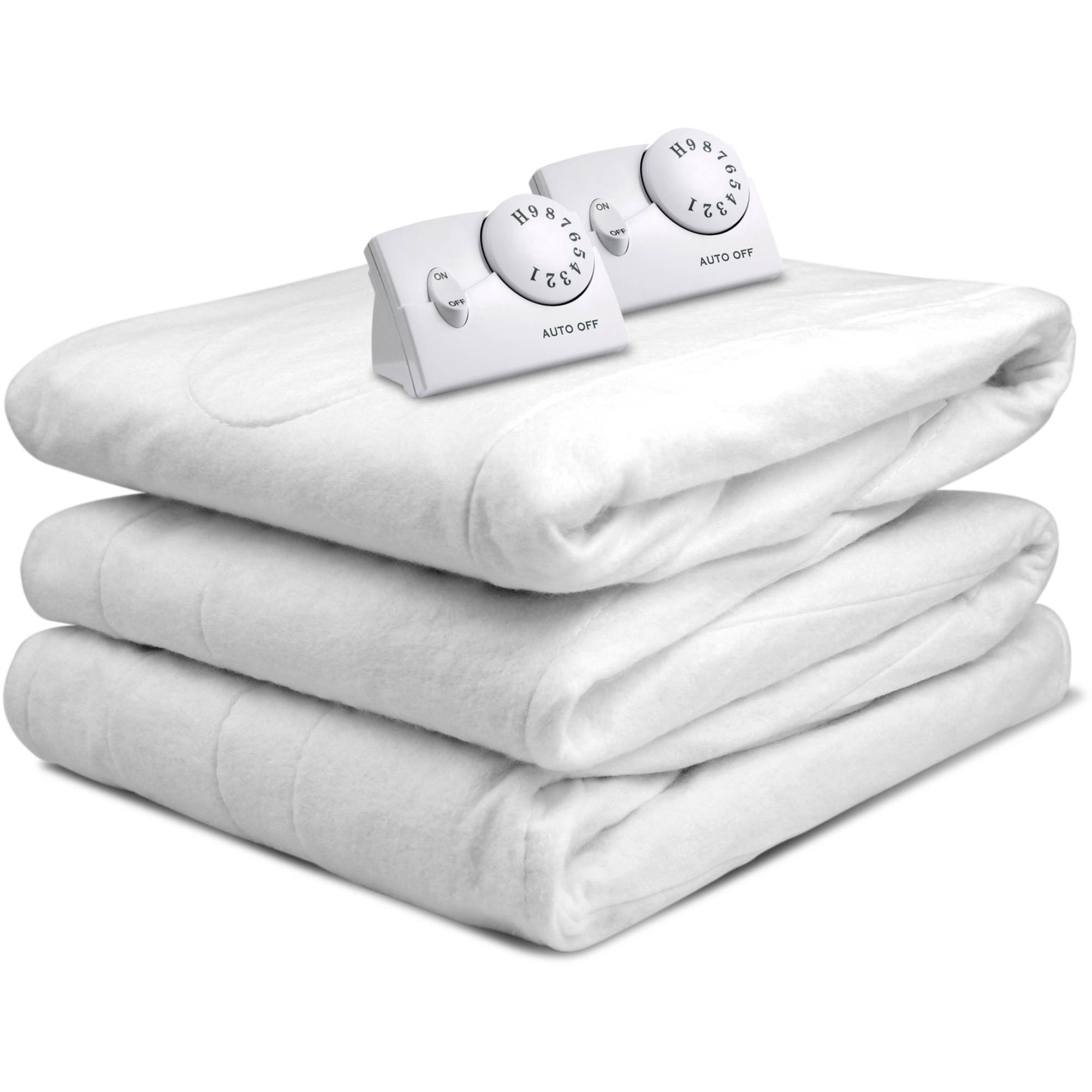 Biddeford Blankets Heated Mattress Pad Walmart