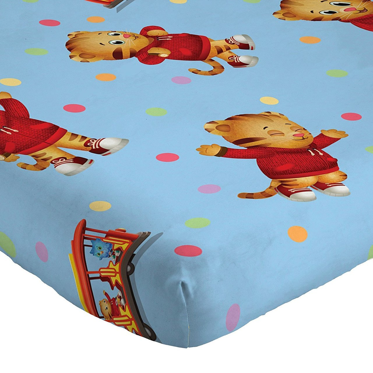 Daniel Tiger Twin Sheets