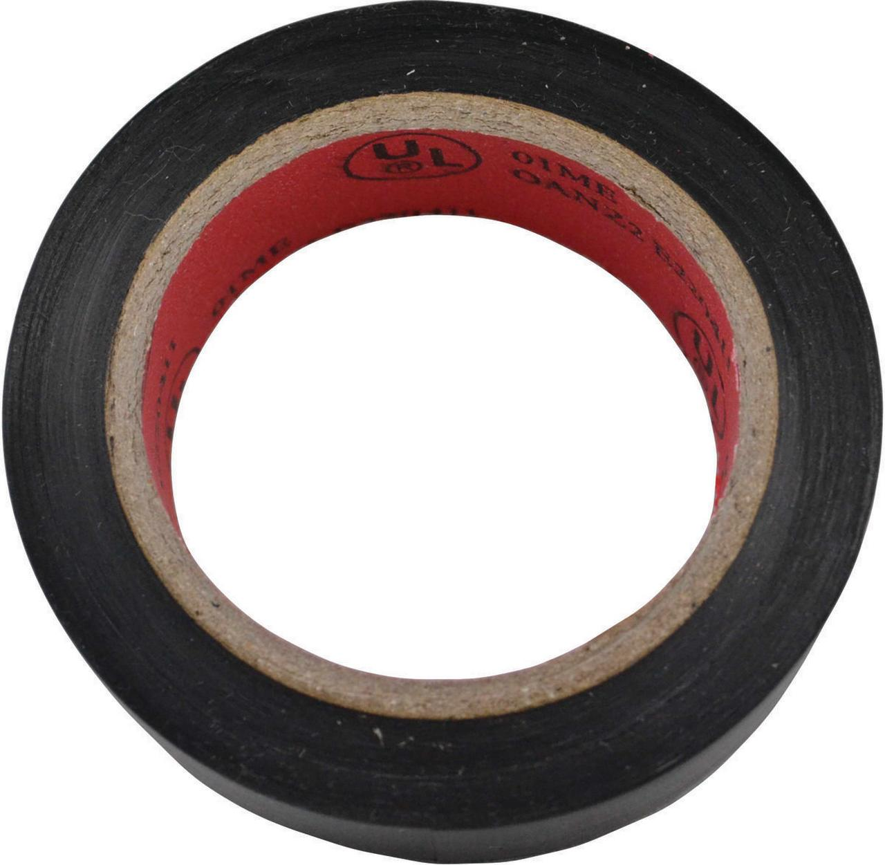 Toolbasix ET-303L Electrical Tape, 3/4 in W x 30 ft L, Black
