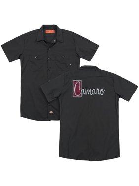 Chevrolet - Chrome Script (Back Print) - Work Shirt - Medium