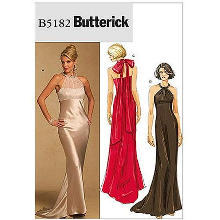 Butterick Patterns B40 Misses' Dress Size AA 40404040 Unique Walmart Dress Patterns