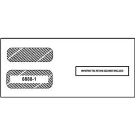 Irs Approved 1099 3 Up Tax Form Envelope