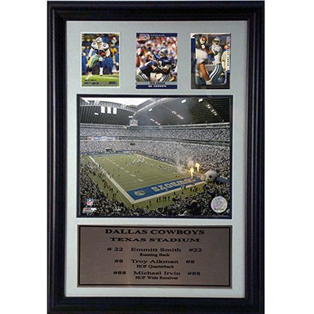 NFL Dallas Cowboys 3-Card Deluxe Frame, 12x18 Dallas Cowboys Picture Frame