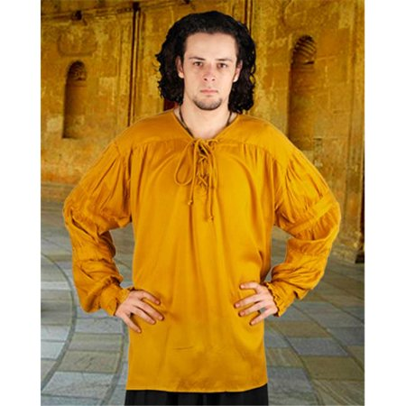 The Pirate Dressing C1009 Redbeard Shirt, Gold - Small & Medium - image 1 of 1