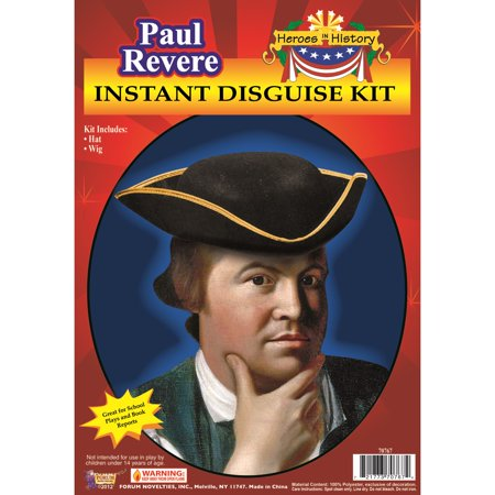 Adult Paul Revere Kit - Paul Bunyan Costume