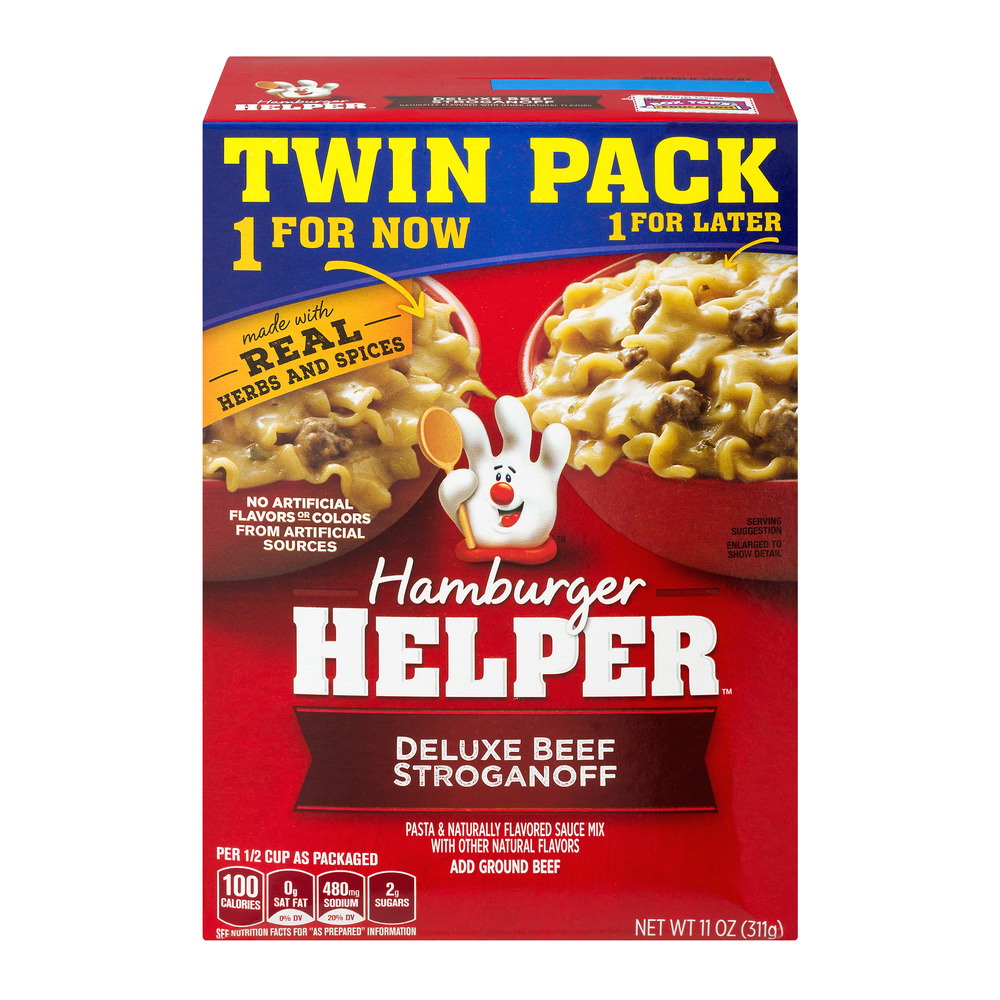 Hamburger Helper Deluxe Beef Stroganoff - 2 PK, 11.0 OZ