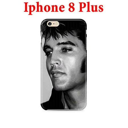 Ganma Elvis Presley design Case For iPhone 8 Plus 5.5in Hard Case - Elvis Presley Cape