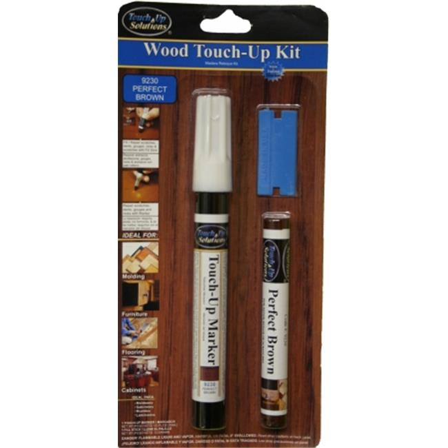 Touch-Up Solutions 818963010116 Furniture Touch-Up & Repair Kit | Perfect Brown