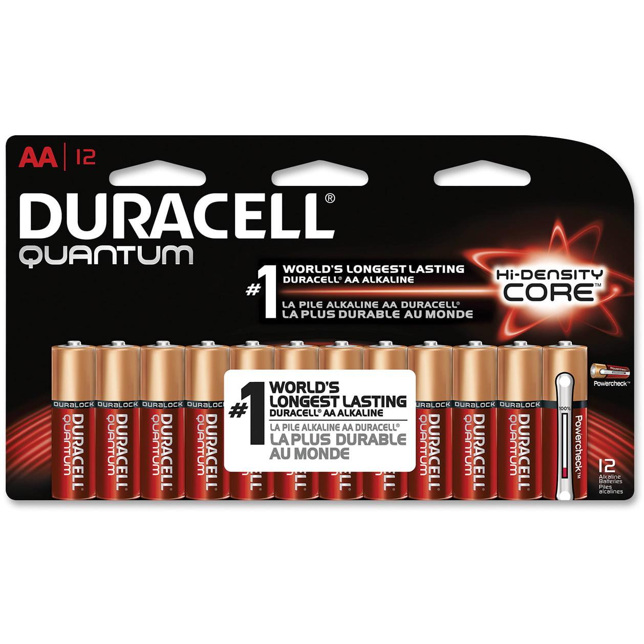 Duracell Quantum Advanced Alkaline AA Batteries,12 Count