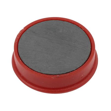Aimant de Réfrigérateur Rond Motif Arabe Numéro Tableau Noir Frigo Magnétique Sticker 10 Pièces Rouge - image 1 de 2