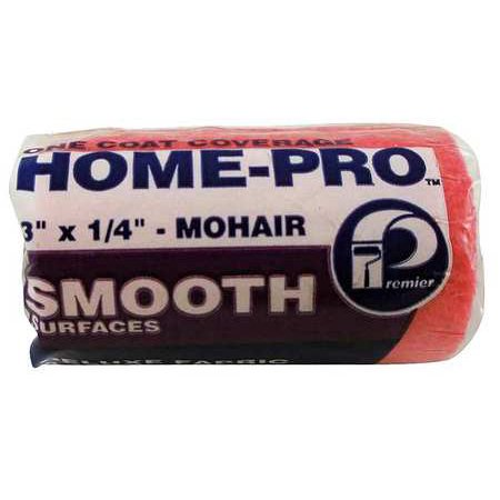 PREMIER 333-M Paint Roller Cover,3 in,Woven (Merrythought Mohair)