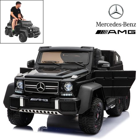 Mercedes Benz Amg Black Series (Licensed Mercedes Benz AMG G63 12V Kids Ride On Car 6 Wheels W/ Remote)