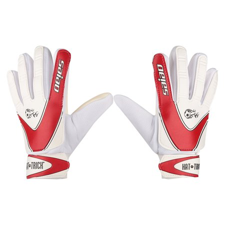 Soccer Goalkeeper Equipment - VGEBY Full Finger Goalie Gloves, Size 7