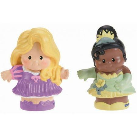 Disney Princess Rapunzel & Tiana Figures by Little People