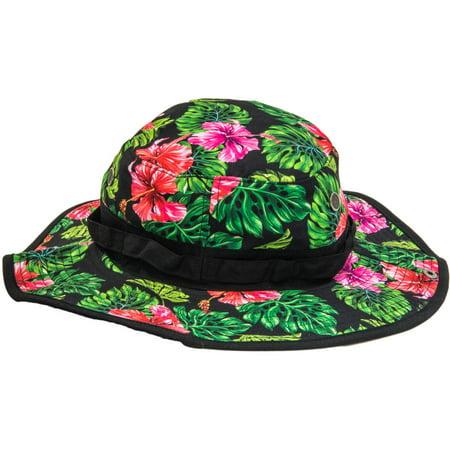 LICENSE - Mens Floral Print Boonie Hat - Walmart.com 7aaeec5405d