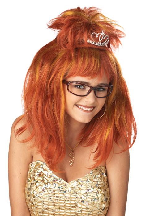Auburn Brand New Prom Queen Nightmare Halloween Costume Wig