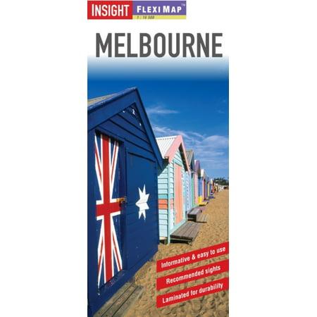 Insight Flexi Map: Melbourne (Insight Flexi Maps) (Fit Melbourne Map)