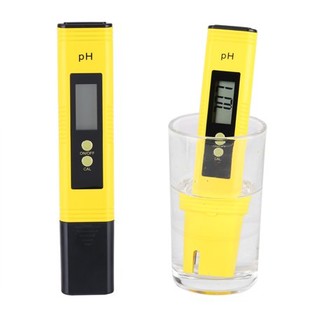 Dilwe Protable Lcd Digital Ph Meter Pen Aquarium Pool Water Wine Tester Tool , Ph Meter, Ph Meter Pen ()