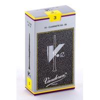 Vandoren Bb Clarinet V.12 Reeds Strength #3; Box of 10