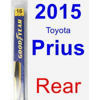 2015 Toyota Prius Rear Wiper Blade - Rear