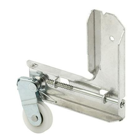 "CRL Stamped Aluminum Corner Insert With 1"" Nylon Ball Bearing Center Groove Sliding Screen Door Roller for Jim Walters"