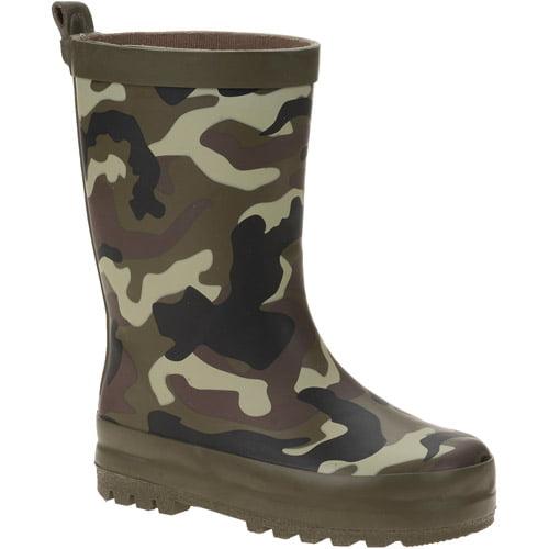 Toddler Boys' Camo Rain Boots