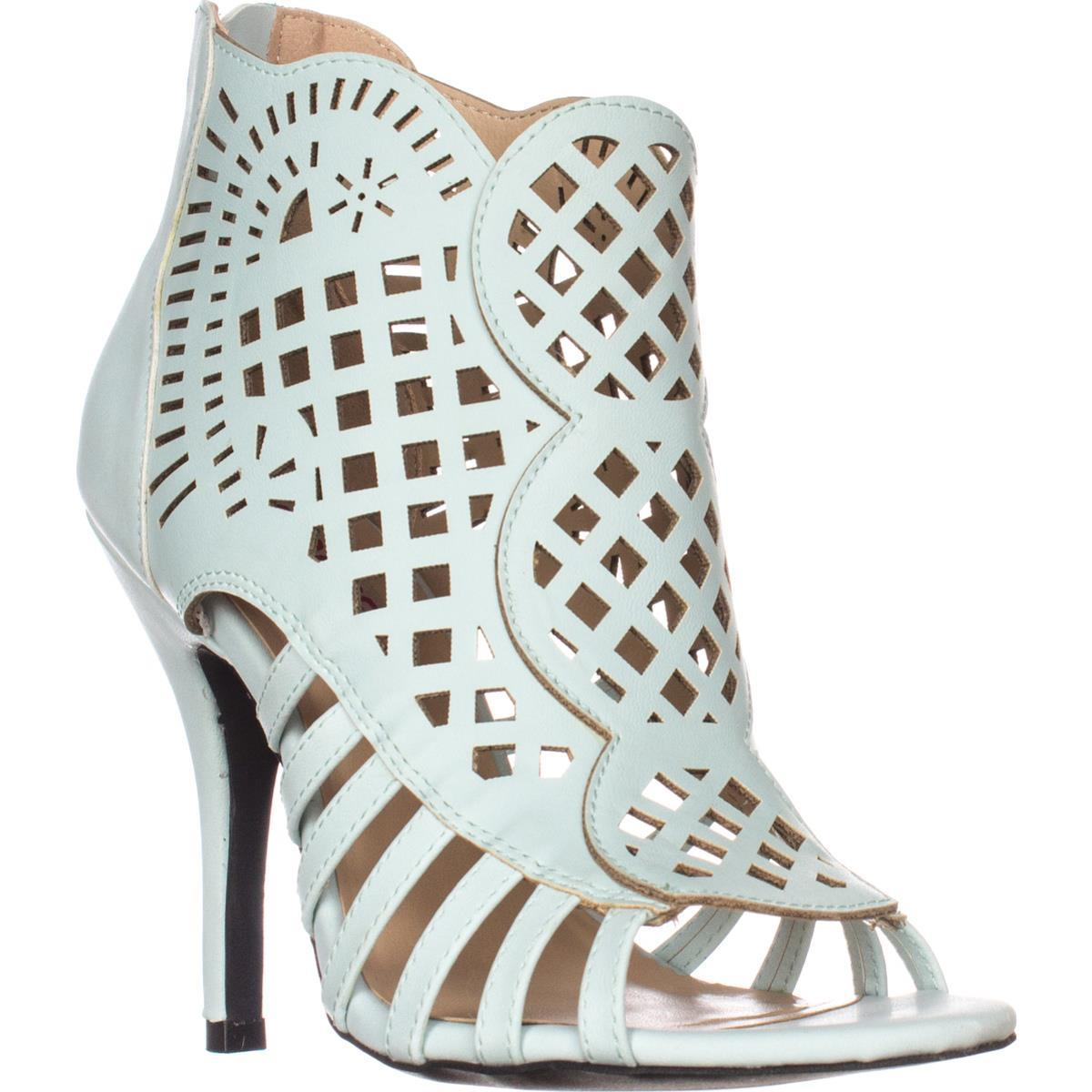 Womens Dolce by mojo moxy Kojo Caged Booties, Light Blue