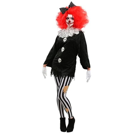 Frightful Clown Womens Costume](Frightful Halloween Foods)
