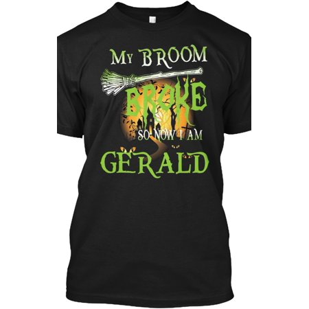 Halloween Name GERALD Hanes Tagless Tee T-Shirt - Clever Halloween Names For Food