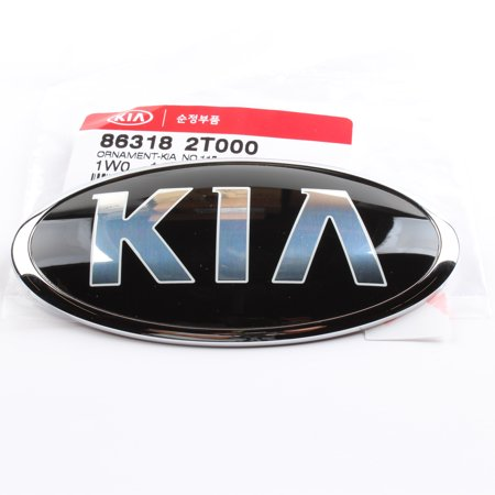 - Genuine 'KIA' front emblem for 11-15 Optima 86318-2T000