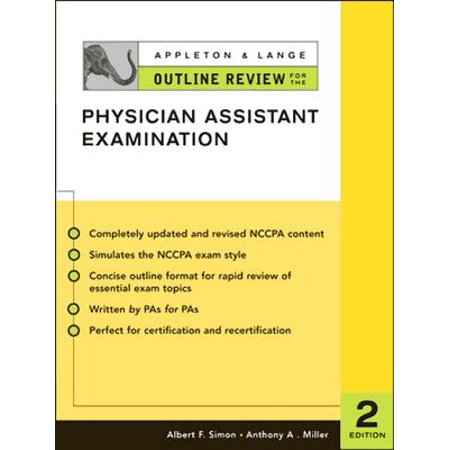 Appleton & Lange Outline Review for the Physician Assistant Examination,  Second Edition - eBook