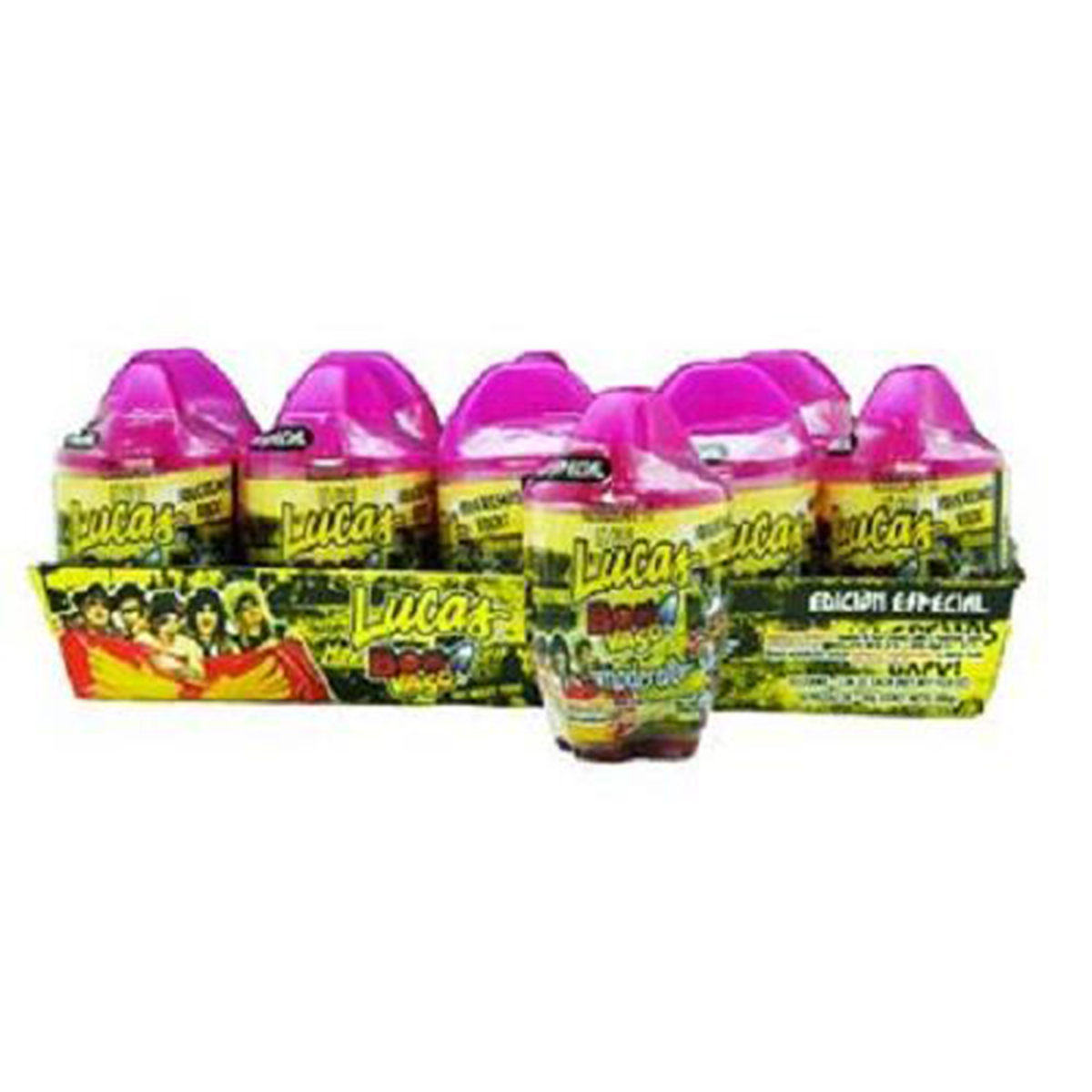 ALAMO CANDY CO. GUMMY WORMS BLOOD CRAWLERS CRAWLING IN CHAMOY AND CHILI SWEET AND SOUR 8 OZ