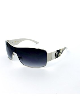 d44a579727b Product Image (3 Pack) KHAN Sunglasses Shield 3635 White